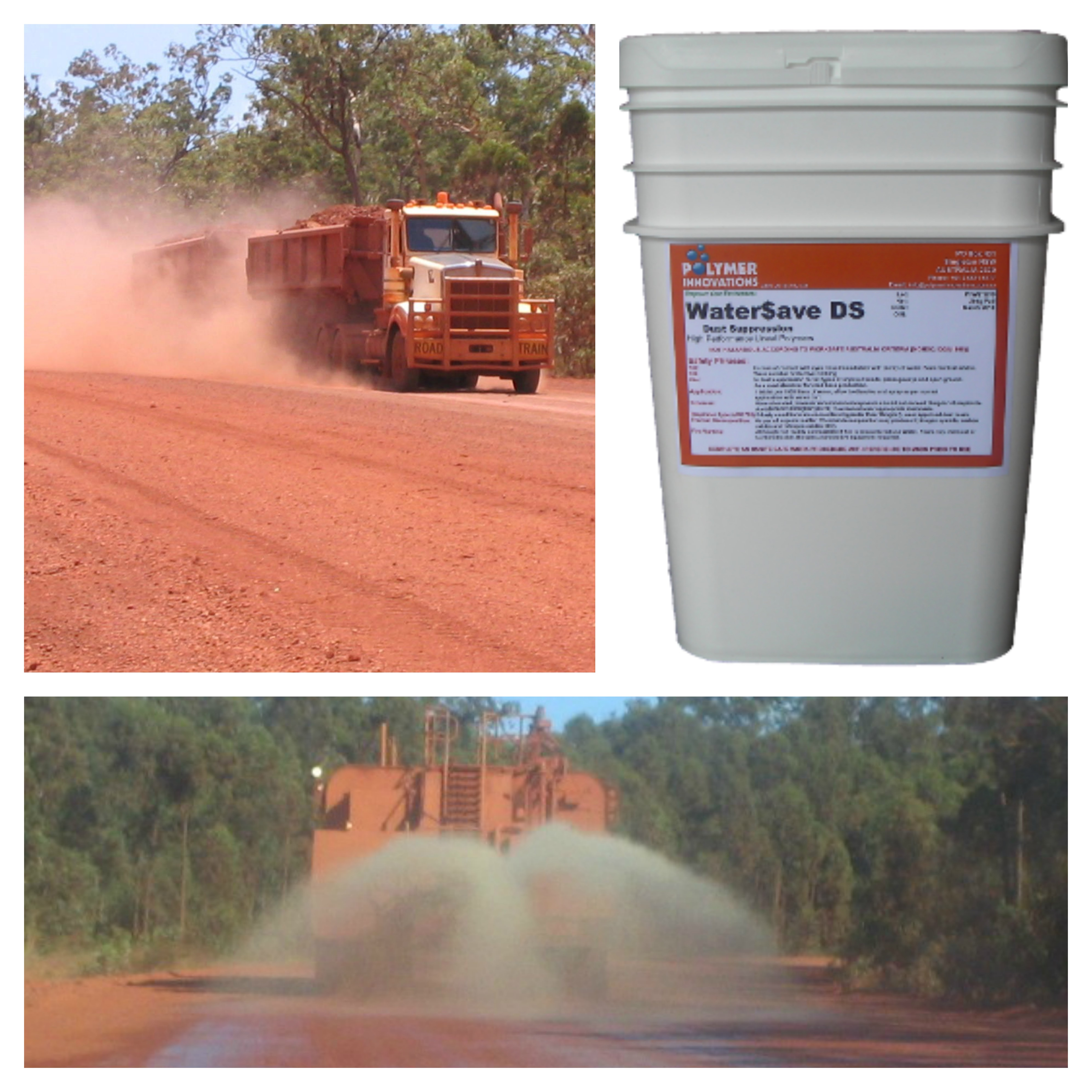 Control Your Dust with Water$ave Dust Suppression